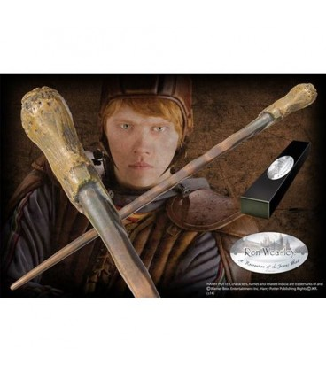 Réplique Baguette Ron Weasley - Noble Collection