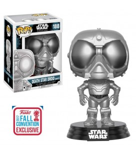 Pop! Death Star Droid (White) Edition Limitée NYCC 2017 [188]