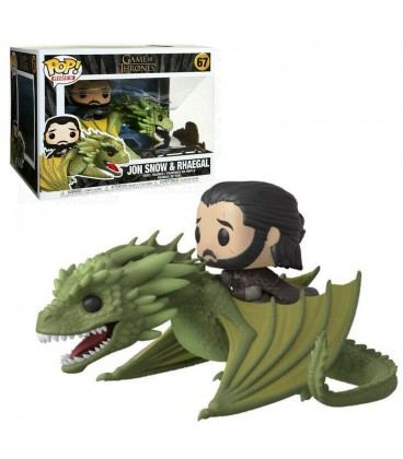 Pop! Rides Jon Snow & Rhaegal [67]
