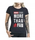 T-shirt More Than A Fan Coupe Femme
