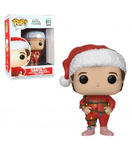 Pop! Santa with Lights [611]