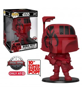 Pop! Boba Fett Futura red Giant Oversized Edition Limitée [297]