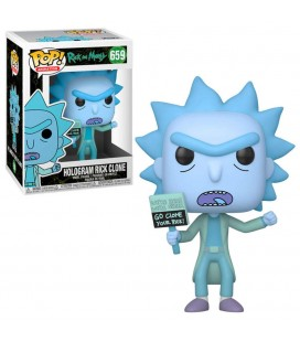 Pop! Hologram Rick Clone [659]