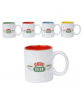 Pack 4 tasses Espresso Central Perk