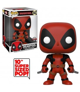 Pop! Deadpool Two Sword Red Super Sized Edition Limitée [543]