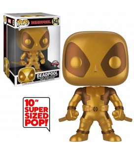 Pop! Deadpool Two Sword Gold Super Sized Edition Limitée [543]