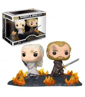 "Pop! Daenerys & Jorah at The Battle Of Winterfell ""Movie Moments"" [86]"