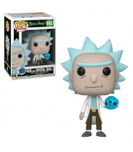 Pop! Rick with Crystal SKull [692]