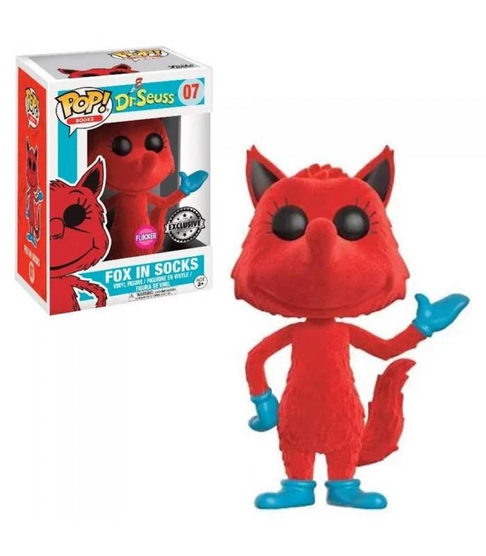 Fox in Socks Vinyl Action Figure New In Box Pop Keychain: Dr Funko Seuss
