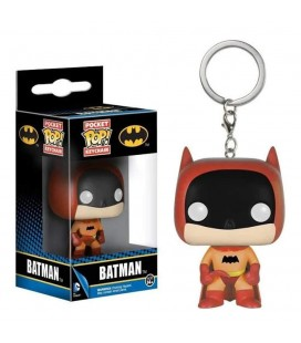 Pocket Pop! Keychain - Batman Rainbow Orange