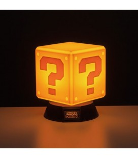 Veilleuse 3D Super Mario Question Block