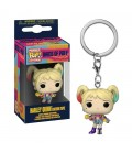 Pocket Pop! Keychain - Harley Quinn Caution Tape