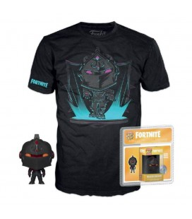 Pack Pocket Pop! & T-Shirt Black Knight