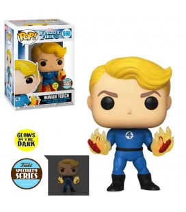Pop! Suited Human Torch GITD (Specialty Series) [568]