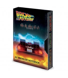 A5 Premium Notebook VHS Great Scott