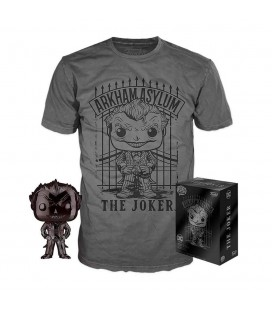 Pop! The Joker Black Chrome Exclusive & T-Shirt