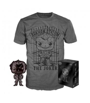 Pop! The Joker Black Chrome Exclusive & T-Shirt