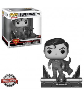 Pop! Superman (Exclusive Jim Lee Deluxe B&W) & T-Shirt