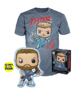 Pop! Thor (Exclusive Glow In The Dark) & T-Shirt