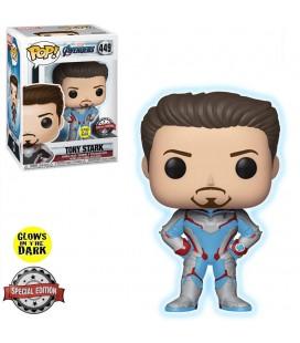 Pop! Tony Stark (Exclusive Glow In The Dark) & T-Shirt