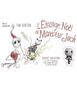 Coffret Collector L'Étrange Noël de Monsieur Jack Livre + porte-clé