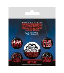 Pack de 5 badges (Characters)