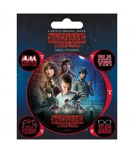 Pack de 5 Stickers en Vinyle One Sheet
