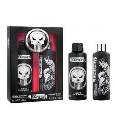 Coffret The Punisher -Body Spray + Gel Douche