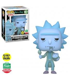 Pop! Hologram Rick Clone GITD Edition Limitée [667]