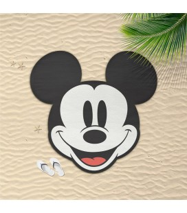 Serviette de Plage / Bain Mickey Mouse Head