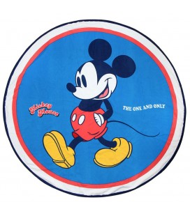 Serviette de Plage / Bain Ronde Mickey The One and Only