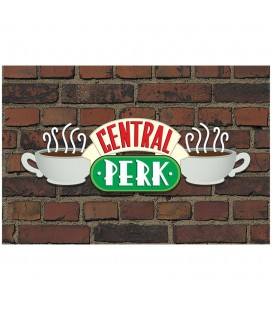 Poster Central Perk Brick 61*91