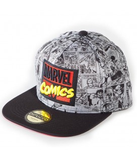 Casquette Marvel Comics Strip