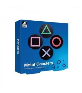 Sous-Verres Playstation en métal