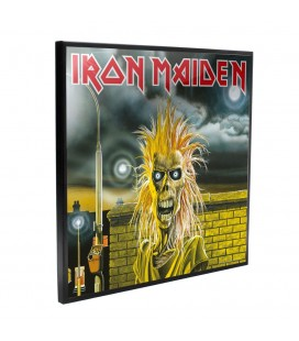 Crystal Clear Picture Iron Maiden 32 x 32 cm