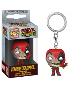 Pocket Pop! Keychain - Zombie Deadpool