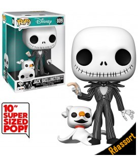 Pop! Jack Skellington with Zero Super Sized [809]
