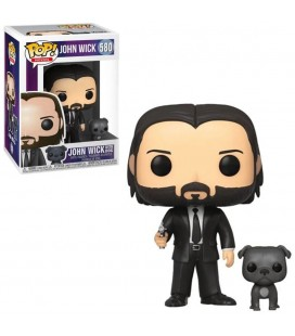 Pop! John Wick with Dog [580]