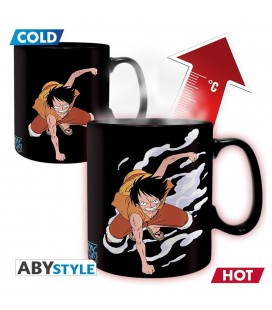Mug Thermoréactif Luffy & Ace