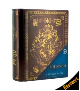 Tirelire Harry Potter Livre Poudlard