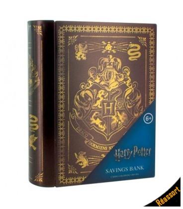 Tirelire Harry Potter Livre Poudlard