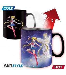 Mug Thermoréactif Sailor & Chibi