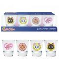 Verres Shooters Emblèmes Sailor Moon
