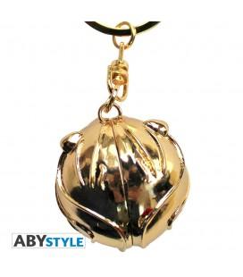 Porte-clés AS 3D Vif d'Or