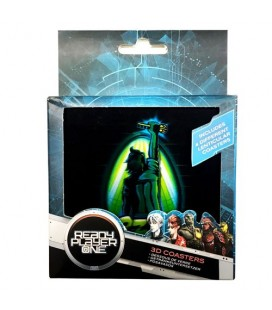 Sous-Verres Lenticular Ready Player One