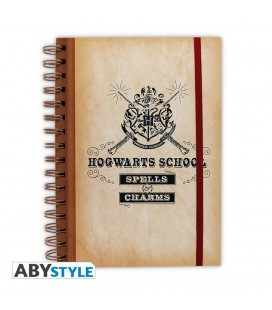 Cahier à Spirale Hogwarts School A5