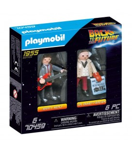Dual Pack 1955 Edition Marty McFly & Dr Emmett Brown Playmobil