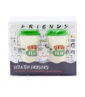 Pack de 2 Gommes parfumées Central Perk