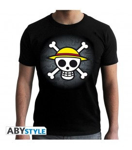 T-shirt Skull with map