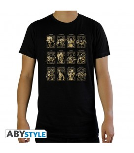 T-shirt 12 armures des chevaliers d'or
